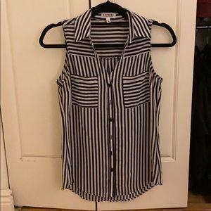 Portofino Striped Shirt, XS